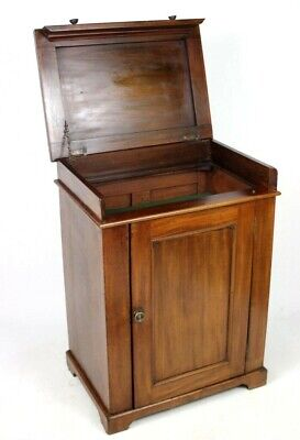Antique Mahogany Bar Cabinet Early 20C - FREE Delivery [PL1825]