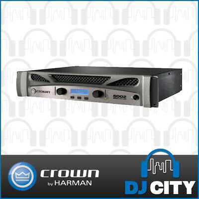 Crown XTi 6002 Power Amplifier 2 Channel 2100W with HiQnet Band Manager, Limi...