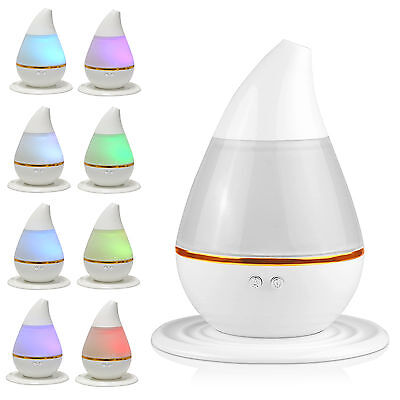 Portable 7 LED Color Changing Ultrasonic Air Humidifier Purifier Aroma Diffuser