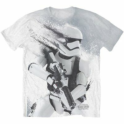 STORMTROOPER STAR WARS THE FORCE AWAKENS OFFICIAL SUBLIMATION T-SHIRT - White