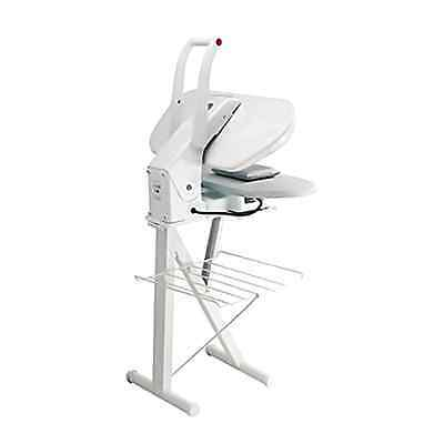 Metal Steam Press Stand White Garment Iron Fabric Clothes Laundry Professional