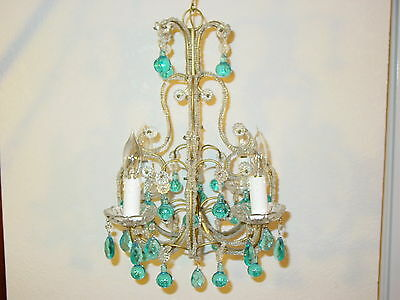 Lovely Authentic Antique French Chandelier From 1920's