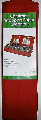 "Christmas Wrapping Paper Organizer 40.2"" X 13"" X 4.5"""