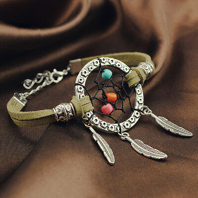 Dream Catcher Charm Bracelet Handmade Jewelry