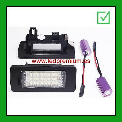 2x LED NUMBER PLATE LIGHTS VOLKSWAGEN GOLF PLUS FACELIFT 2009+ 5M1 521 CANBUS