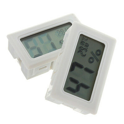 Portable Digital LCD Indoor Temperature Humidity Meter Thermometer Hygrometer