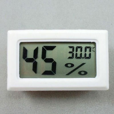 Thermometer Hygrometer Temperature Gauge Humidity Meter Digital LCD Monitor