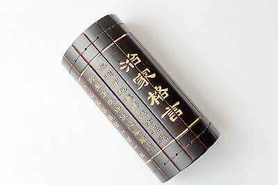 """Classical Bamboo Scroll Slips Famous Book of """" Management Of Family Motto"""" 治家格言"""