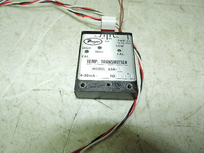 DWYER INSTRUMENTS 650-3 Temperature Transducer, 0 to 100C,