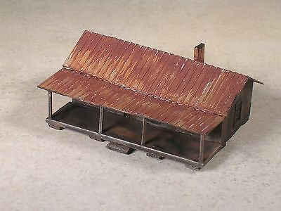 Z Scale Share Croppers House weathered, part # 34258