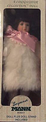 Winter Fantasy Porcelain Doll From Seymour Mann's Connoisseur Collection - Rare!