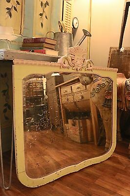 """Large Antique Vintage Shabby Chic Mirror 33 1/2"""" x 33 1/8"""""""