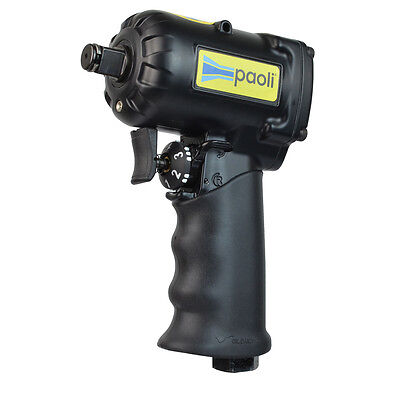 """1/2"""" Impact Wrench Jumbo Hammer L/R Hand Switch Super Compact DP1050 Paoli Italy"""