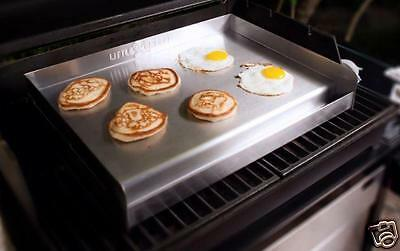 Grill Griddle Gas Top Countertop Flat Stainless Commercial Thermal Control BBQ