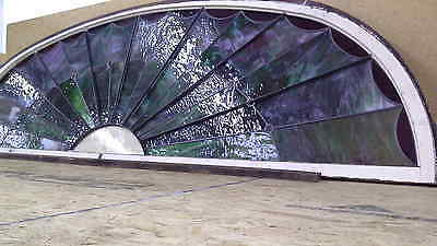 Beautiful, Stained Glass Arched Window