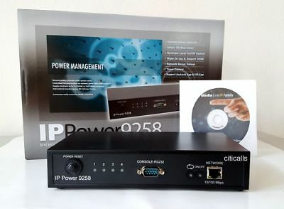 Aviosys IP9258TP 4 Port Web AC Power Switch Controller Remote Reboot Auto PING