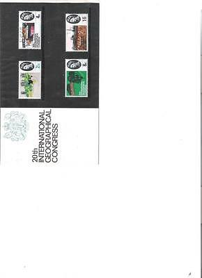 1964 Royal Mail Presentation Pack Geographical Congress Mint Pre Decimal Stamps