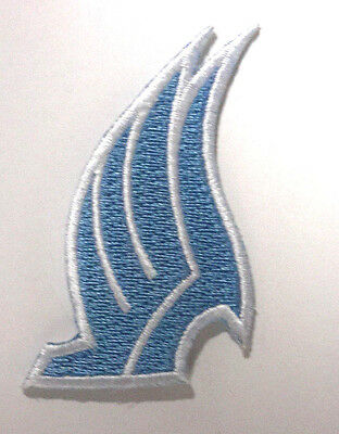 """Mass Effect Blue Wings Logo Embroidered Patch-2"""" Tall-USA Mailed (MEPA-03)"""