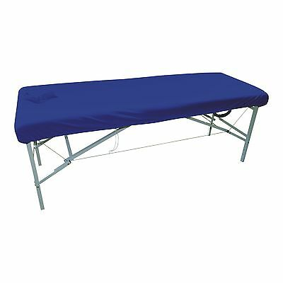 Couch Cover, Royal Blue With Facehole/Massage/Table