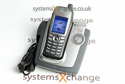 Cisco 7921G Wireless IP Phone with Desktop Charger & PSU - Grade A - Inc VAT Del