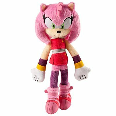 Sonic Boom Small Plush Amy Toy Kids Play Game Christmas Gift
