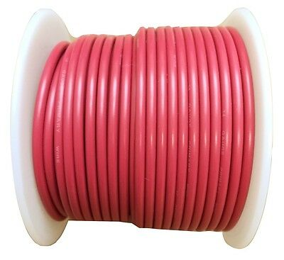14 Gauge RED 100 FT Automotive Stranded Primary Wire