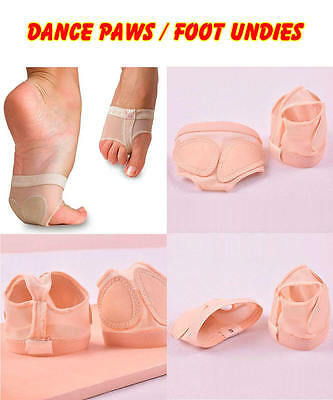 Foot Toe Undies Dance Foot Toe Thongs Dance Paws Half Lyrical Shoes Dancewear