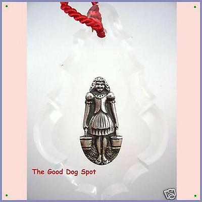 Reed& Barton Sterling 12 Days Christmas Ornament 8 Maids 1995 Collectible
