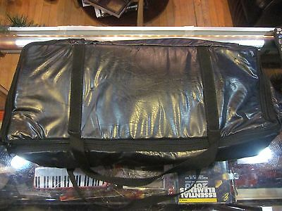 "New 22.5"" x 9.5"" x 4.5"" Padded Keyboard Cover with Handle and Zipper"