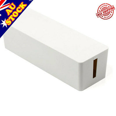 ORICO Cable Storage Box Wire Management Socket Safety Tidy Organizer - White