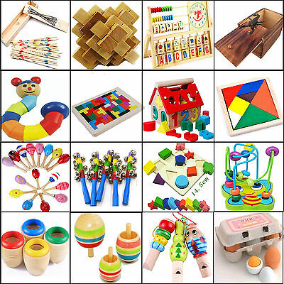 NT Baby Educational Kids Children Intellectual Developmental Wooden Toy Gift