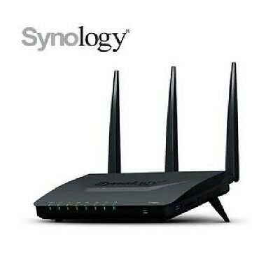 DHL Ship -New Synology RT1900ac AC1900 Wireless Dual Band Gigabit Router 1.0 GHz