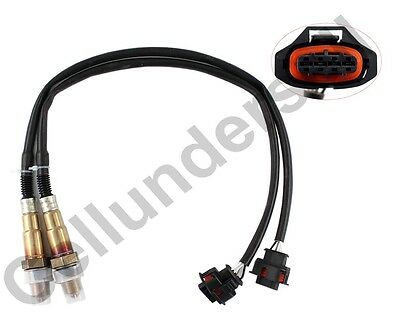 2 x O2 Oxygen Sensors For Holden COMMODORE VZ VE 3.0L 3.6L Rear Colorado Rodeo