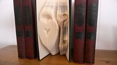 Key To My Heart Folded Book Art unique valentines day gift for her for him books