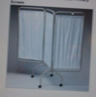 NEW NIB Patterson Medical Sammons Preston 3 Three Panel Privacy Screen 5603-84