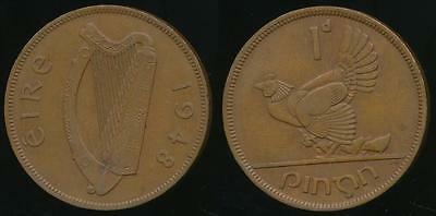 Ireland, Republic, 1948 One Penny, 1d - good Very Fine