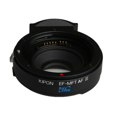 Baveyes 0.7x Optic Autofocus Adapter for EOS EF Lens to Micro Four Thirds M4/3