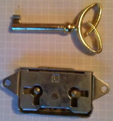 Cabinet door lock set - built in NEW!