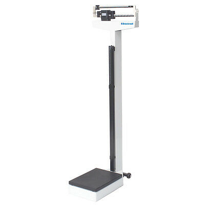 440 LB X 4 OZ Salter Brecknell HS-200M Physician Medical, Height & Weight Scale
