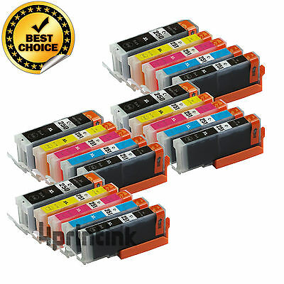 20 Ink Cartridges PGI-250XL CLI-251XL for CANON Pixma MG5420 MG5520 MX722 MX922