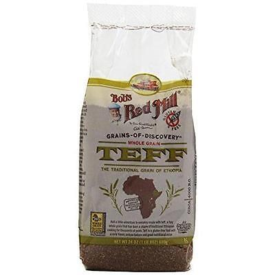 Bob's Red Mill Whole Grain Teff, 24-Ounce Packages Rich in fiber  BRAND NEW