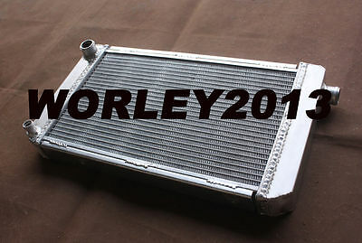 Aluminum Radiator for MG MIDGET 1500 1975 1976 1977 1978 1979 Manual
