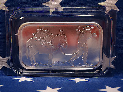 SilverTowne Prospector Uncirculated 1oz Troy .999 Fine Solid Silver Bar Made USA