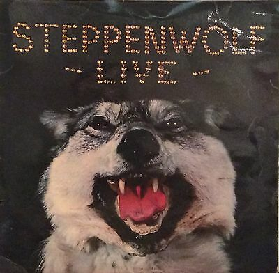 STEPPENWOLF  LIVE  LP  uk press