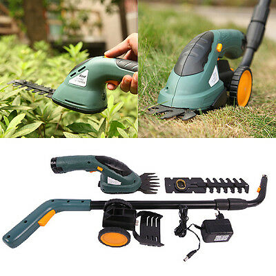East 3.6V 2 In 1 Electric Cordless Grass Shear Hedge Trimmer Power Tool