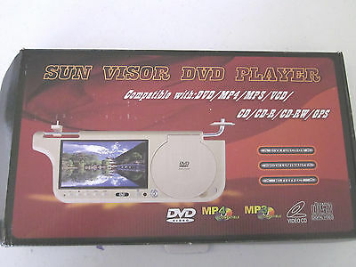 SUN VISOR DVD PLAYER ---2 only ----- Free Shipping