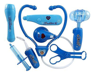 Liberty Imports Doctor Nurse Blue Medical Kit Playset for Kids-Pretend Play ToY