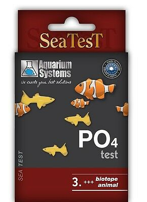Aquarium Systems-PO4 Test-SeaTest