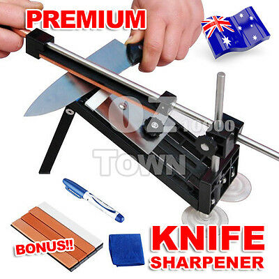 Professional Kitchen Tools Knife Sharpener Sharpening System Fix-angle Stones