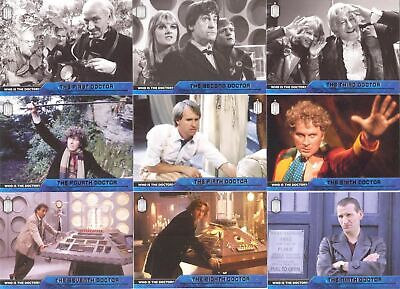Topps 2015 Doctor Who Who Is The Doctor? Set Of 12 Cards! RARE!
